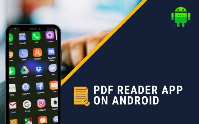PDF Reader App on Android