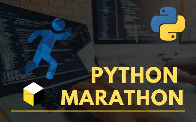 5 Day Python Marathon